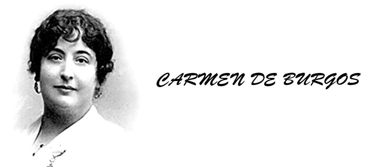 Resultado de imagen de CARMEN DE BURGOS